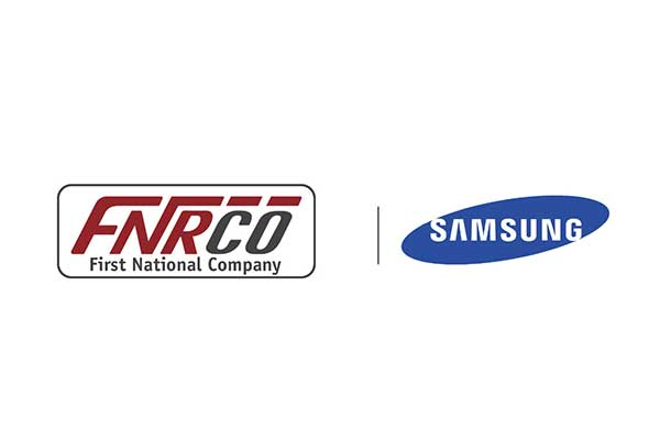 The first National Company (FNRCO) Signs an agreement with Samsung Company